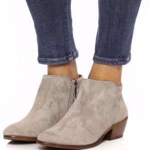 NWOT Sam Edelman Taupe Petty Chelsea Ankle Bootie